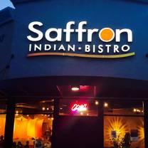 photo of saffron indian bistro restaurant