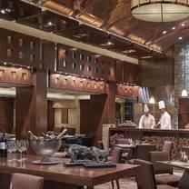 photo of the fireplace - new world manila bay hotel restaurant
