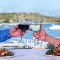 photo of windrose marker 26 lakeside dining at margaritaville lake resort restaurant