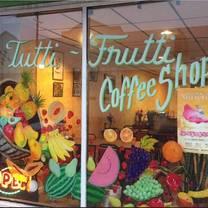 photo of tutti frutti coffee shop restaurant