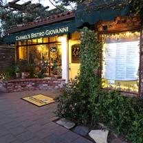 photo of carmel's bistro giovanni restaurant