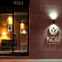 foto de restaurante koli cocina de origen