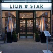 photo of lion & star restaurant