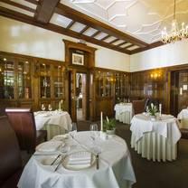 photo of la chaire restaurant at chateau la chaire restaurant