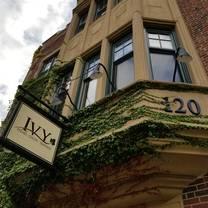 photo of ivy restaurant
