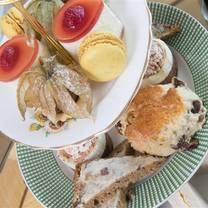 photo of afternoon tea at the imperial hotel restaurant