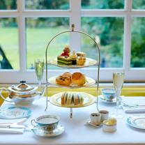 photo of afternoon tea at the goring restaurant