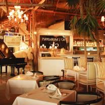 photo of mandarina's café restaurant