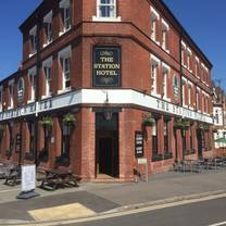 photo of the station hotel at hucknall restaurant