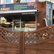 photo of adams ethiopian restaurant