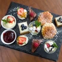 photo of afternoon tea at makeney hall hotel restaurant