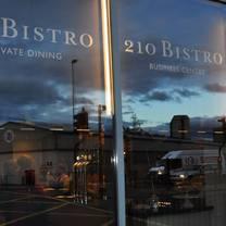 photo of 210 bistro restaurant