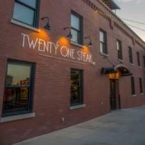 photo of twenty one steak restaurant