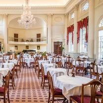 photo of the pump room restaurant