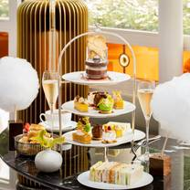 photo of afternoon tea at jean-georges at the connaught restaurant