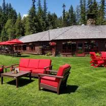 photo of elkins resort on priest lake restaurant