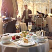 photo of afternoon tea at the savoy restaurant