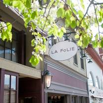 photo of la folie restaurant