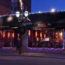 photo of opa restaurant providence restaurant
