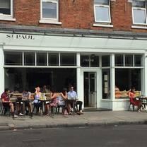 photo of st paul islington restaurant