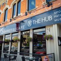 photo of the hub restaurant