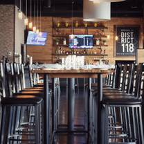 photo of district 118 kitchen and bar restaurant
