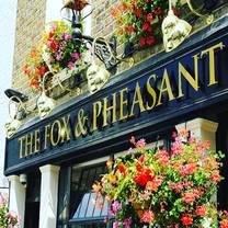 photo of the fox & pheasant restaurant
