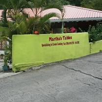 photo of martha's tables restaurant