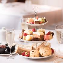 photo of afternoon tea at the westmead hotel restaurant