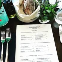 foto von semolina restaurant restaurant