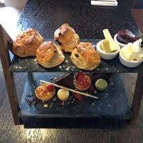 photo of afternoon tea at the mill bar & grill restaurant
