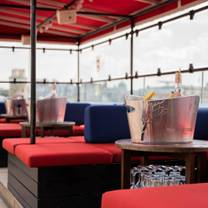 photo of soho sky terrace [previously toy roof] at courthouse hotel restaurant