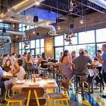 photo of pie tap pizza workshop + bar - design district restaurant