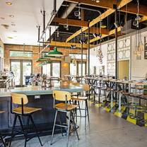 photo of pie tap pizza workshop + bar - henderson ave restaurant
