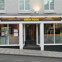 photo of green room restaurant restaurant