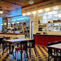 photo of cafe landwer - cleveland circle restaurant