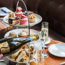 photo of afternoon tea at the birch room restaurant
