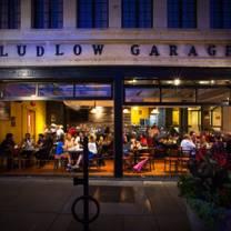 photo of ludlow garage restaurant