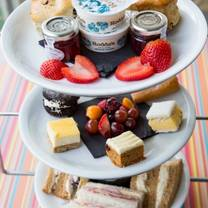 photo of afternoon tea at sands by the sea restaurant