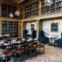 photo of the library restaurant