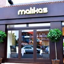 photo of malika's restaurant restaurant