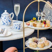 photo of afternoon tea lounge at the tamburlaine hotel restaurant
