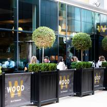 photo of wood manchester restaurant