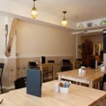 photo of the allotment bistro restaurant