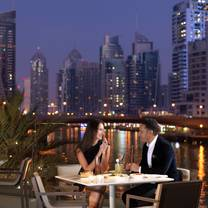 photo of accents restaurant & terrace - intercontinental dubai marina restaurant