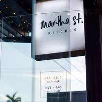 photo of martha street kitchen restaurant