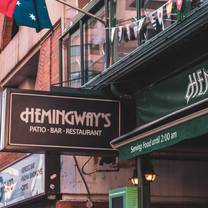 photo of hemingway's restaurant