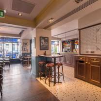 photo of the london street brasserie restaurant