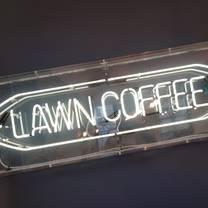 photo of lawn coffee restaurant