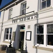 photo of the yeoman restaurant
